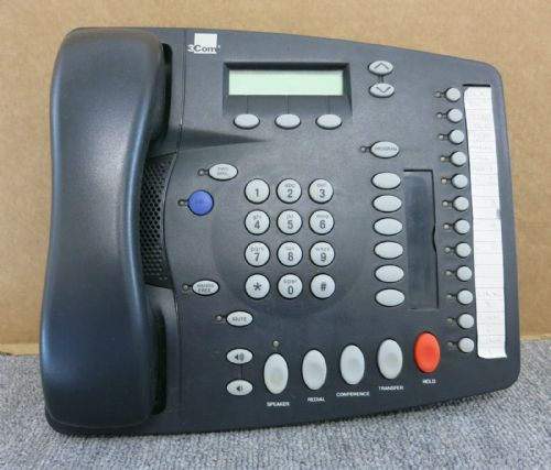 3Com 3C10121 655-0008-03 NBX 1102 Business Telephone Charcoal Gray - No Stand